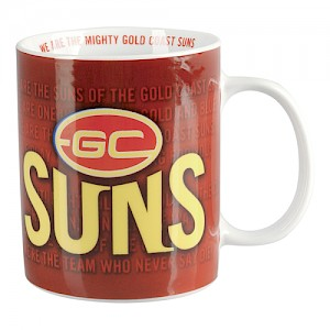 Gold Coast Suns Team Song Mug
