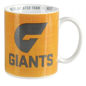Greater Western Sydney Giants Team Song Mug