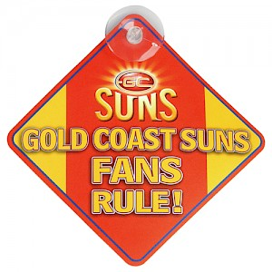 Gold Coast Suns Car Sign