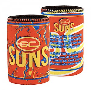 Gold Coast Suns Team Song Can Cooler