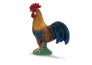 Schleich - Rooster Colourful