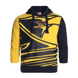 West Coast Eagles Youth Supporter Pullover Hood