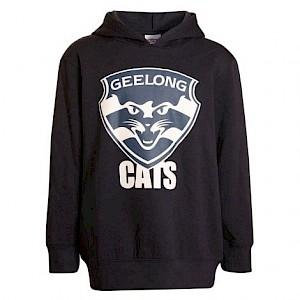 Geelong Cats Logo Hood - Size 2