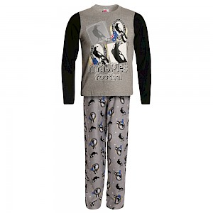 Collingwood Magpies Youth Long Sleeve Pyjama Set