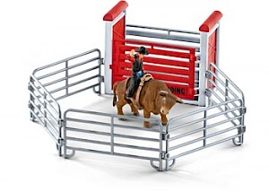 SC41419 Schleich – Bull Riding With Cowboy