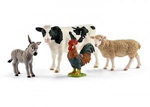 SC42385 Schleich – Farm World Starter Set