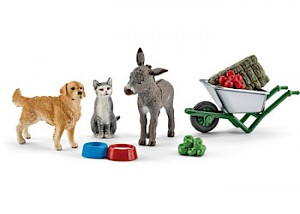 SC41423 Schleich – Feeding On The Farm Save
