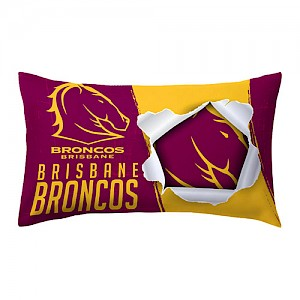 Brisbane Broncos Pillow Case