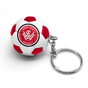 Western Sydney Wanderers Ball Key Ring