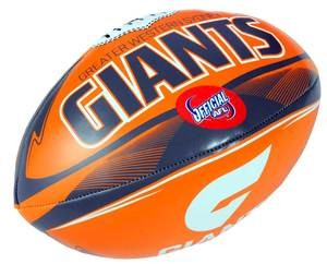 "Greater Western Sydney Giants 6"" Soft Footy"
