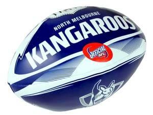 "North Melbourne Kangaroos 6"" Soft Footy"