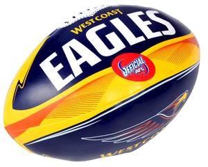 "West Coast Eagles 6"" Soft Footy"
