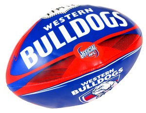 "Western Bulldogs 6"" Soft Footy"