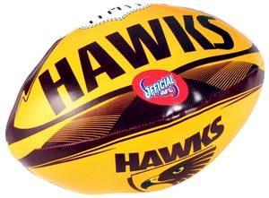 """Hawthorn Hawks 6"""" Soft Footy"""