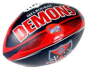 "Melbourne Demons 6"" Soft Footy"