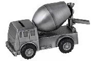 Cement Truck Money Bank