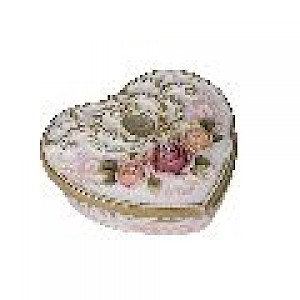 Priscilla Heart Jewellery Box