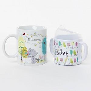 Tiny Tatty Teddy Mum and Baby Mug Set
