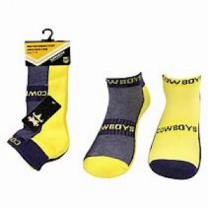 North Queensland Cowboys 2PK Ankle Socks - Size 7-11