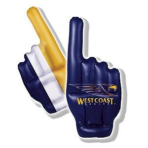 West Coast Eagles Inflatable Hand