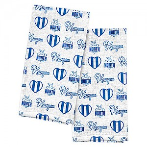 North Melbourne Kangaroos 2pk Tea Towels