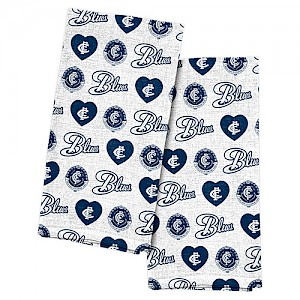 Carlton Blues 2pk Tea Towels