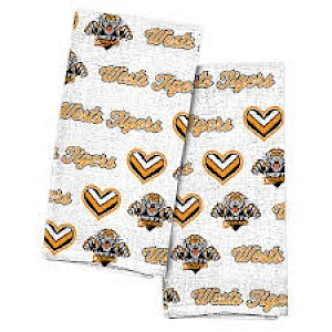Wests Tigers 2pk Tea Towels
