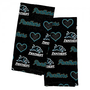 Penrith Panthers 2pk Tea Towels