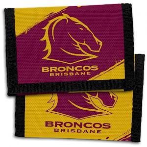 Brisbane Broncos Velcro Wallet