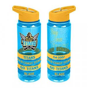 Gold Coast Titans Tritan Bottle with Bands