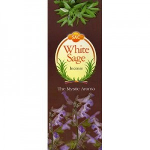 Sandesh - White Sage Incense Sticks