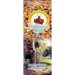 Sandesh - Frankincense Myrrh Incense Sticks