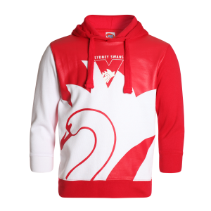 Sydney Swans Youth Supporter Pullover Hood