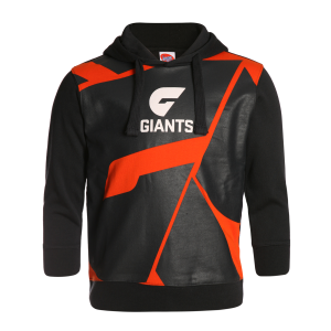 GWS Giants Youth Supporter Pullover Hood - Size 12