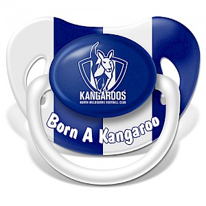 North Melbourne Kangaroos Baby Dummy