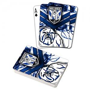 Canterbury-Bankstown Bulldogs Playing Cards