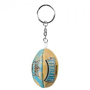 Gold Coast Titans Soft Footy Key Ring