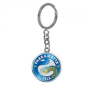 Parramatta Eels Enamel Logo Key Ring