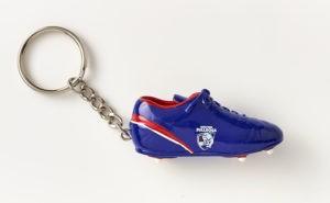 Western Bulldogs Boot Key Ring
