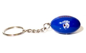 Western Bulldogs Ball Key Ring