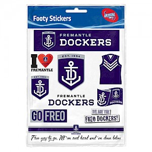 Fremantle Dockers Sticker Sheet