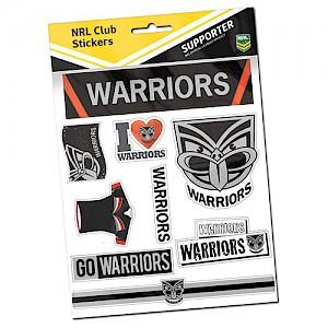 New Zealand Warriors Sticker Sheet