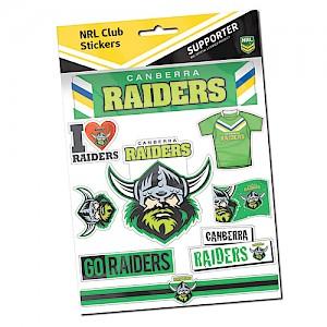 Canberra Raiders Sticker Sheet