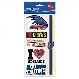 Adelaide Crows Tattoo Sheet