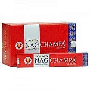 Golden Nag Champa Incense Sticks