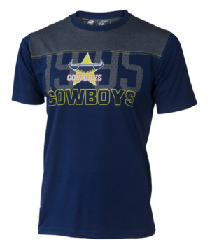 North Queensland Cowboys Men's Cotton Tee - Size Large