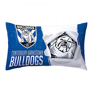 Canterbury Bankstown Bulldogs Pillow Case
