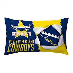 North Queensland Cowboys Pillow Case