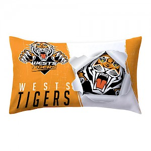 Wests Tigers Pillow Case