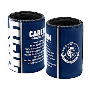 Carlton Blues Can Cooler